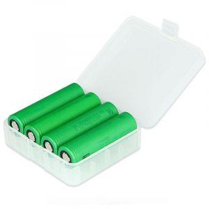 Plastična kutija za 18650 / 26650 baterije