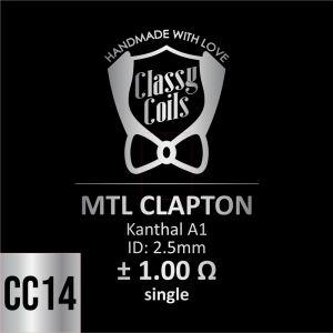 CC-14 - Classy Coils - MTL Clapton