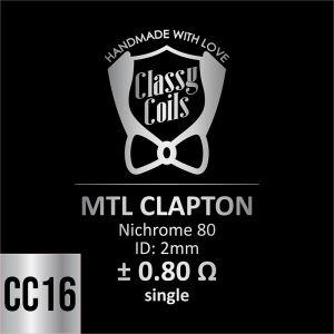 CC-16 - Classy Coils - MTL Clapton