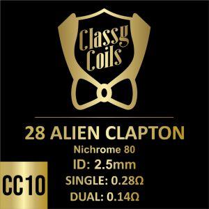 CC-10 - Classy Coils - 28 Alien Clapton