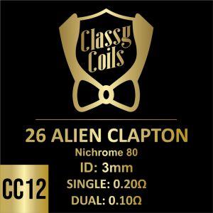 CC-12 - Classy Coils - 26 Alien Clapton