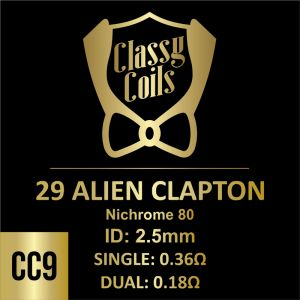 CC-9 - Classy Coils - 29 Alien Clapton