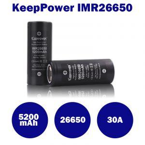 KeepPower IMR26650 - 5200mAh