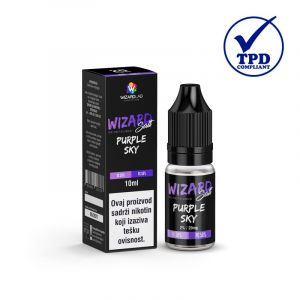 WizardLab Nic-Salt tekućina - Purple Sky - 10ml