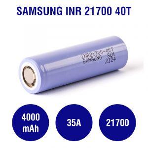 Samsung INR 21700 40T 4000mAh - 35A
