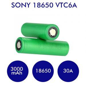 Sony VTC6A 18650 3000mAh - 30A
