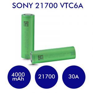 Sony VTC6A 21700 4000mAh 30A