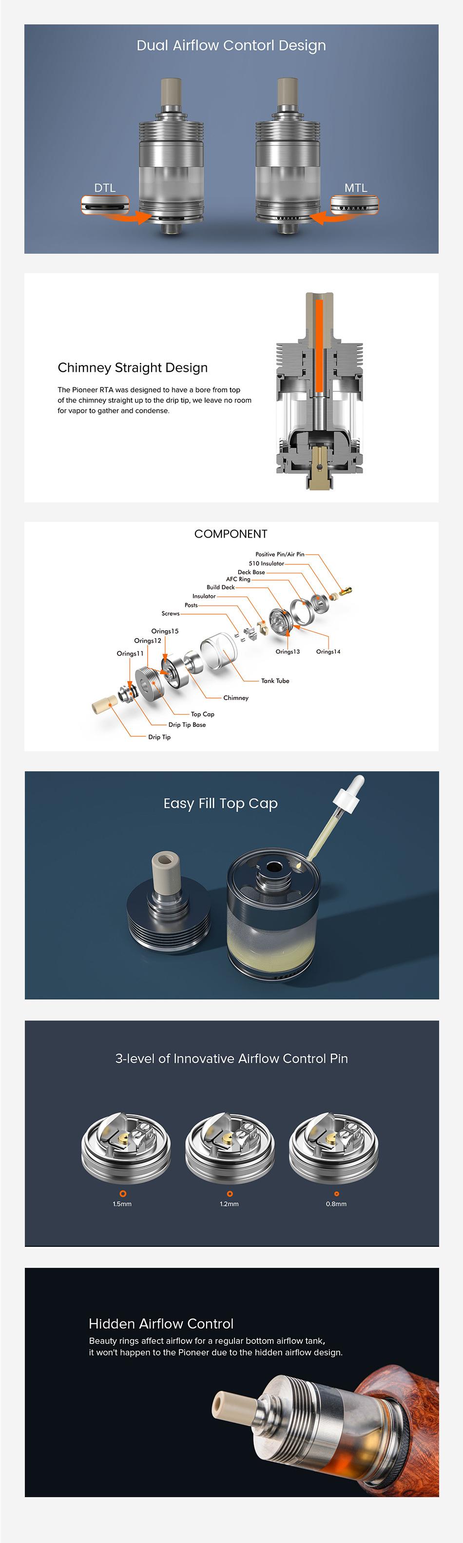 BP Mods Pioneer MTL RTA