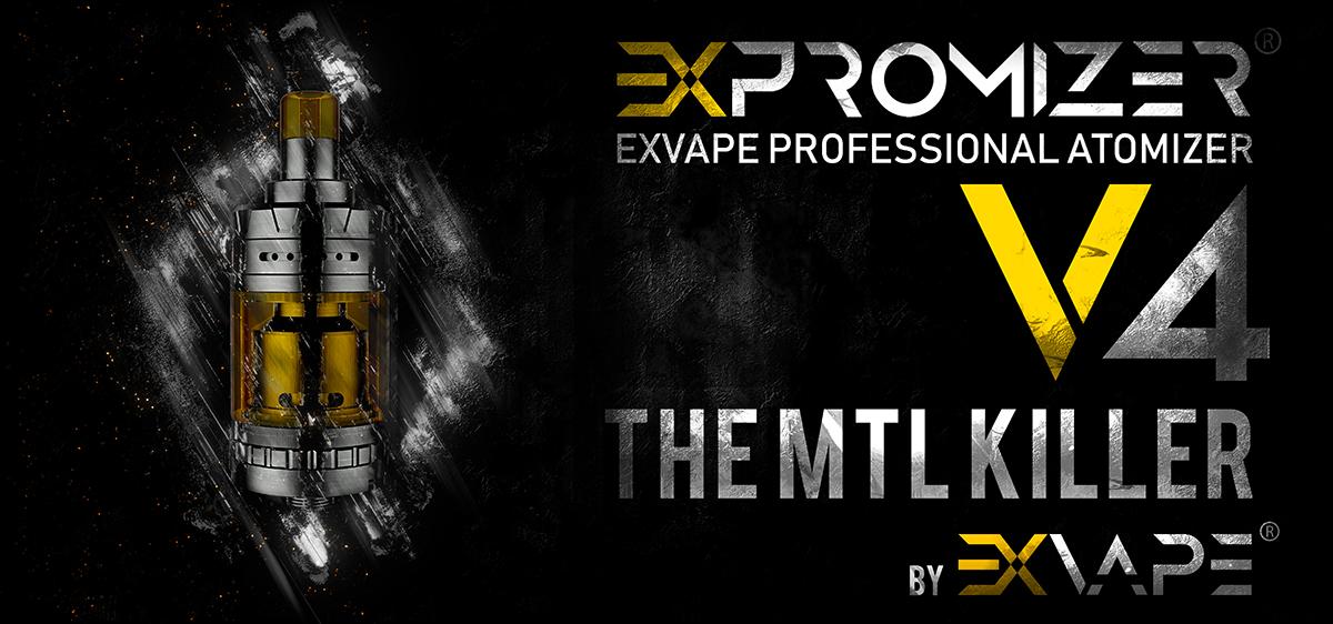 Exvape Expromizer V4 MTL RTA - 2ml
