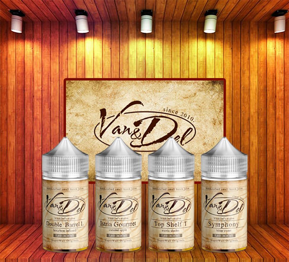 Van & Del Design by Infamous Liquids